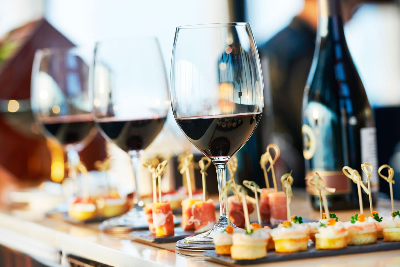 Paladdrat Buffet para Eventos: Comidas & Bebidas